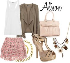"""""""Alison DiLaurentis"""" by nee-sa ❤ liked on Polyvore"""