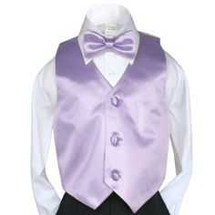 Unotux 2pc Boys Satin Lilac Vest and Bow tie Set from Baby to Teen (2T) Unotux http://www.amazon.com/dp/B00GRLHEGE/ref=cm_sw_r_pi_dp_uK-4tb0RX4XRE