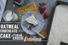 Oatmeal Chocolate Chip Cake // shutterbean