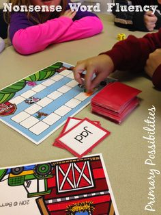 Primary Possibilities: 10 Ways to Practice Nonsense Words for DIBELS!