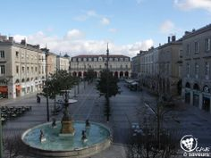 Place Jean Jaures Castres Tarn