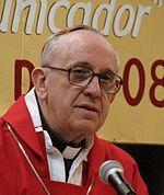 El nuevo papa Francisco (Jorge Mario Bergoglio) en 2008
