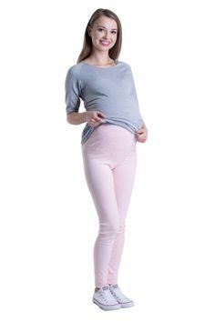 Světlo oranžové bavlněné legíny pro těhotné White Jeans, Pants, Fashion, Trouser Pants, Moda, Fashion Styles, Women's Pants, Women Pants, Fashion Illustrations