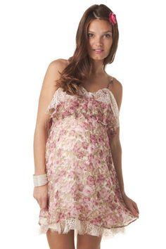 Robe hippie chic femme enceinte