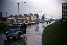Flood on Picardy Street, Lower Belvedere 1968