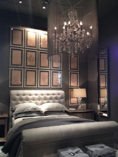 Restoration hardware bedroom gray