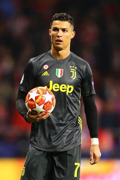 Football ©: Portuguese Footballer Cristiano Ronaldo [Club Atletico de Madrid v Juventus - UEFA Champions League Round of First Leg. Cristiano Ronaldo Cr7, Critiano Ronaldo, Cristiano Ronaldo Celebration, Cr7 Messi, Cristiano Ronaldo Wallpapers, Ronaldo Football, Cr7 Juventus, Uefa Champions, Champions League