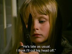 """He's late as usual. I think I'll cut his head off."" - Jan Svankmajer ""Alice"" 1988"