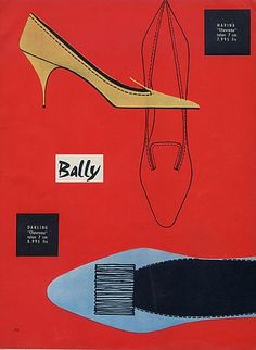 Jean-Pierre Bally. Bally (Shoes) 1958.