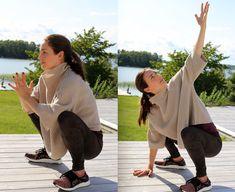 De här 7 rörlighetsövningarna kommer att förbättra din hälsa – några minuter om dagen räcker! - Metro Mode Bedtime Yoga, Yoga Routine, Excercise, Workplace, Feel Good, Health Fitness, Workout, Sports, Inspiration
