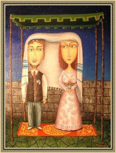Zurab Martiashvili: Sujets Juifs    WEDDING