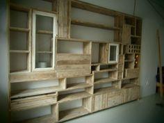 A Krista Weissman bookcase (https://www.facebook.com/pages/Krista-Custom-Woodwork/343047279082318)