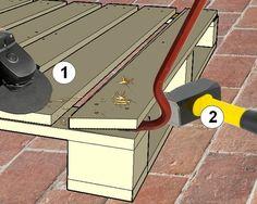 comment bien démonter les palettes Woodworking Projects Diy, Pallet Projects, Diy Projects, Construction Palette, Pallet Door, Palette Art, Duck House, How To Plan, Garage