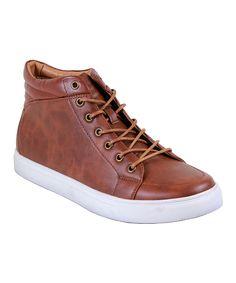 Light Brown Carl Hi-Top Sneaker