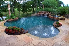 Natural / Freeform Pool #026 by Southernwind Pools