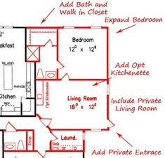 In law addition plans garage plans garage kits garage for How to search for homes with mother in law suites