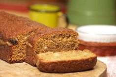 bolo com farinha integral e passas