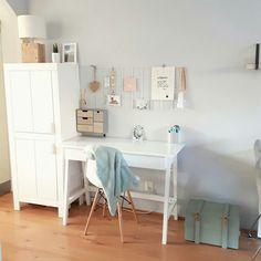 Office Desk, Corner Desk, Sweet Home, Instagram Posts, Furniture, Home Decor, Homemade Home Decor, Desk, House Beautiful