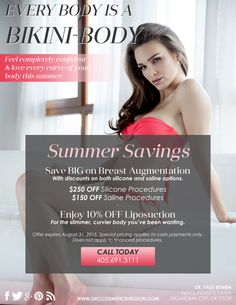 Take advantage of our summer savings! Contact us today to schedule a consultation.