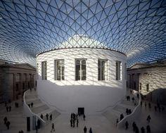 La Great Court del British Museum, obra de Norman Foster, era un lugar recurrente en las novelas de Dickens.