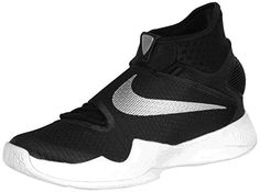 1c2b7c5aa1e9 Nike Mens Zoom Hyperrev 2016 TB ShoesBlackMetallic -- Learn more by  visiting the image link. (This is an affiliate link)
