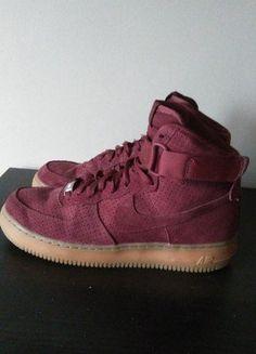 Kup mój przedmiot na #vintedpl http://www.vinted.pl/damskie-obuwie/botki/15809229-nike-air-force-suede