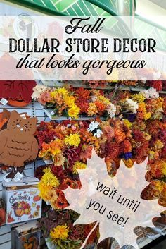 this video tutorial will show you how to make gorgeous fall dollar tree diy decor that doesn