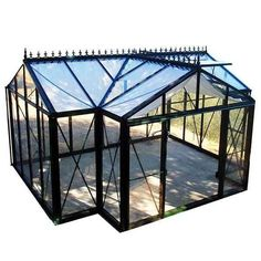 View a Larger Image of Royal Victorian Orangerie Greenhouse