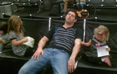 fun times on a layover w/the kidlets