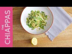 Zesty Spring Vegetable Speedy Pasta Sauce - cooked in 5 mins