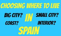 Living in Spain - Choosing the best place to live in Spain Best Places To Live, The Good Place, Spain, Good Things, Travel, Tips, Viajes, Sevilla Spain, Destinations