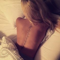 ⭐ Tattoos ⚜️ ⭐ I love it & Placement is sexxy! 💋 I love it & Placement is sexxy! Time Tattoos, Sexy Tattoos, Cool Tattoos, Body Art Tattoos, Arabic Tattoos, Feminine Tattoos, Small Quote Tattoos, Small Tattoos With Meaning, Tattoo Quotes