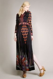Vintage Paganne dress from http://thriftedandmodern.com