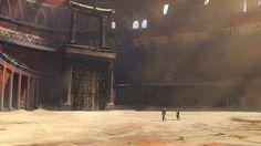 ArtStation - Gladiator Arena, Ivan Vujovic