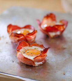 Jimmy's Bacon 'n' Egg Bundles  @Gluten Free Chef