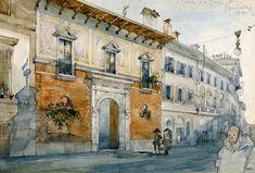 Casa degli Atellani Milano, corso Magenta 65 1919-1921