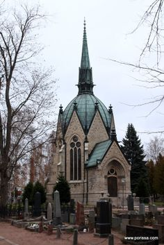 The Juselius Mausoleum, Pori, Finland / Porissa - valokuvablogi: Juseliuksen mausoleumi