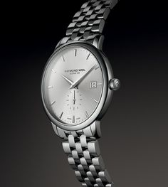 Discover the contemporary, yet classic style of our new #Toccata collection. #RAYMONDWEIL #NewWatch