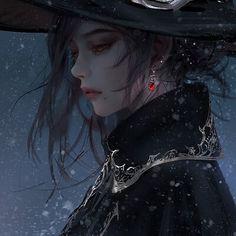 Fantasy Art Women, Beautiful Fantasy Art, Beautiful Anime Girl, Fantasy Girl, Character Art, Character Design, Arte Dc Comics, Digital Art Girl, Dark Anime