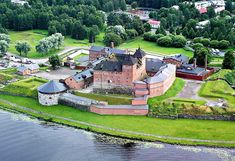 Medieval Castle, Finland, Places To Travel, Interior Architecture, Beautiful Places, Manor Homes, Mansions, History, House Styles