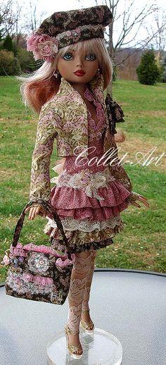 OOAK Fashion for Ellowyne by Collet-Art