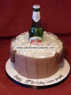 Cake M041 :: Men's Birthday Cakes :: Birthday Cakes :: Cake Library - Cake for all Occasions