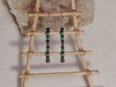Healing green malchite  jewelry Protection by EnchantedRoseProduct, $9.75