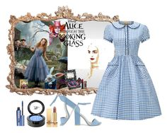 """Alice"" by marionmeyer on Polyvore featuring Mode, Urban Decay, Burton, Nly Shoes, Yves Saint Laurent, Beauty Is Life, Benefit, contestentry und DisneyAlice"