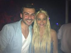 Con Leticia en #LaPosada disfrutando de esta noche de miércoles @Albertodelacru