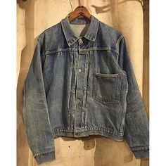 -New Arrival- 『1940's Levi's 506XX 1st WW2 Jacket』 40年代、リーバイス506XX1st大戦デニムジャケット シンチバック付き、渋い色落ち、38程のサイズ感も完璧な1着。 #ACORN ...