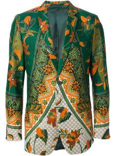 Dent De Man Floral Print Blazer - Eraldo - Farfetch.com