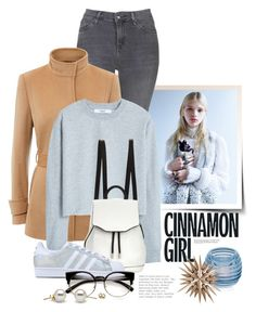 """Dec 6th (tfp)"" by boxthoughts ❤ liked on Polyvore featuring Topshop, Jaeger, MANGO, rag & bone, adidas Originals, Dartington Crystal and tfp"