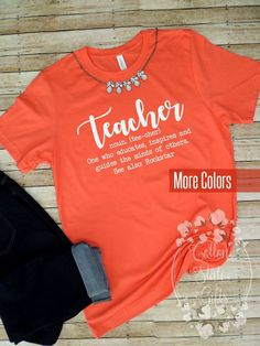 ca5400e625 Teacher Shirts - Funny Teacher - Teacher Tee - New Teacher Gift - Teacher  Life Tshirt- Teacher T-Shi