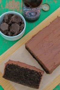 Chocolate and Ale Cake via http://underthebluegumtree.com